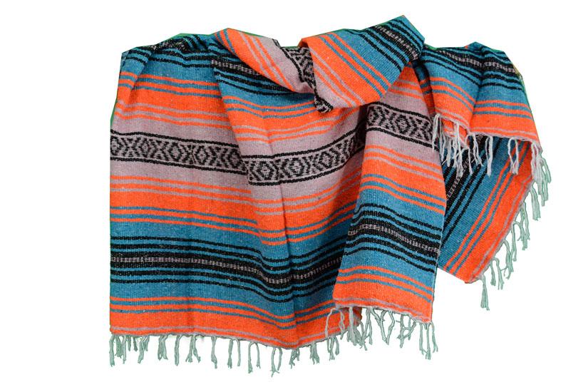 Decke + Gürtel -  Falsa - L - Orange  - 1MSZZ0orangebluX