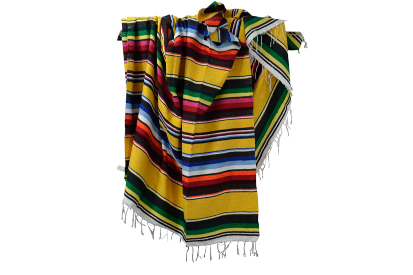 Mexican blanket - Serape - XL - Yellow