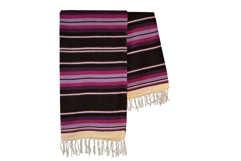 Mexican blanket,Serape. Purple