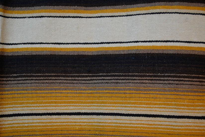 Mexikanische Decke -  Serape - XL - Naturlich