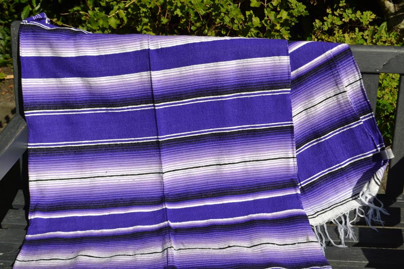Mexican blanket - Serape - XL - Purple - BBBZZ1purple1