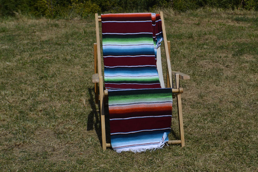 Mexican blanket - Serape - XL - Brown