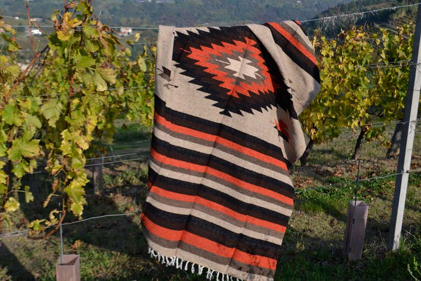 Mexican blanket,Indian. Brown