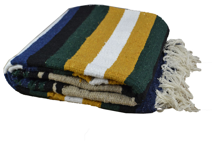 Mexican blanket - indian - L - Naturel - EEXZZ1DGbeigeyellow