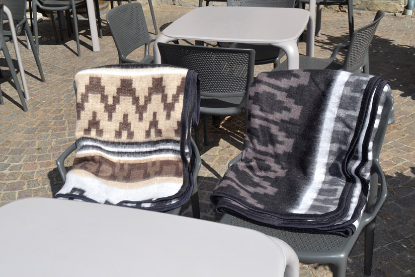 Mexican blanket - Western - XL - Black