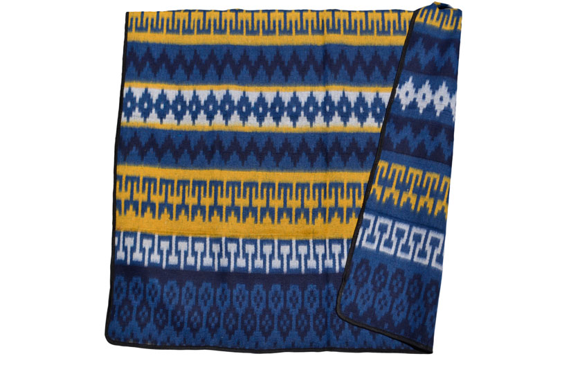 Couverture mexicaine -  Western - XL - Blue - ETXZZ0INblu
