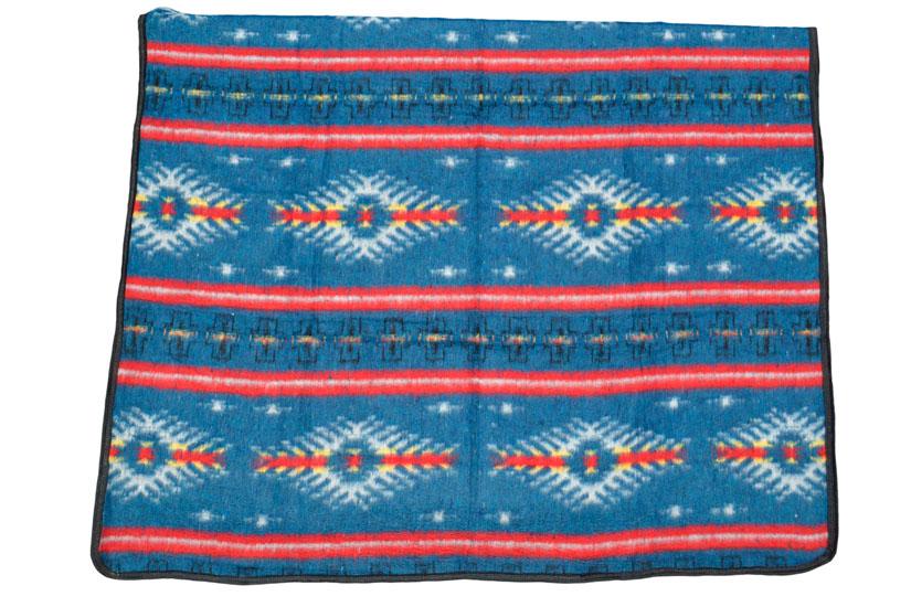 Couverture mexicaine -  Western - XXL - Blue - EUXZZ0INblu