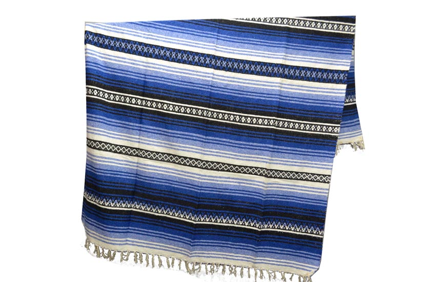 Couverture mexicaine -  Falsa - XL - Blue - KXOZZ0blu