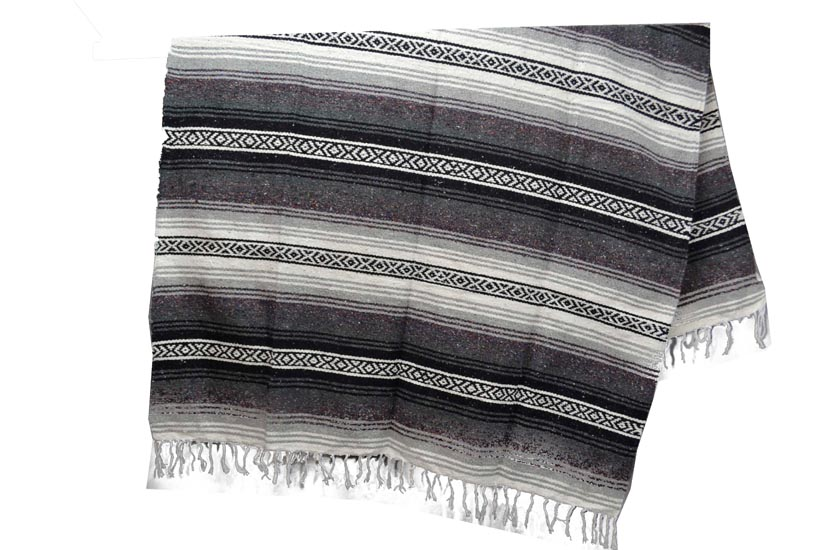 Couverture mexicaine -  Falsa - XL - Gris