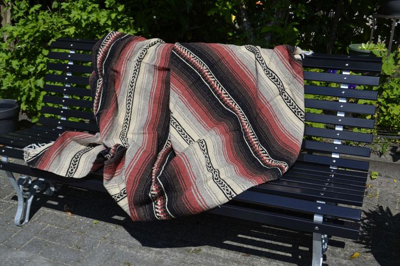 Mexicaanse deken - Falsa - XL - Bruin - LHGZZ0brown1