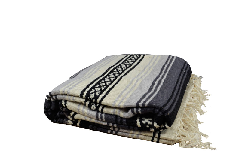 Mexican blanket - Falsa - XL - Grey - LHGZZ0grey