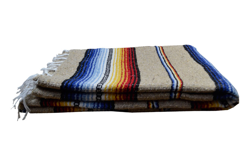 Mexican blanket - Falsa - XL - Naturel