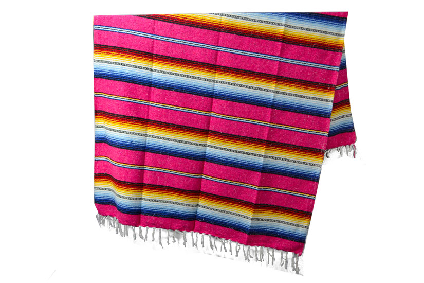 Mexicaanse deken - Falsa - XL - Roze
