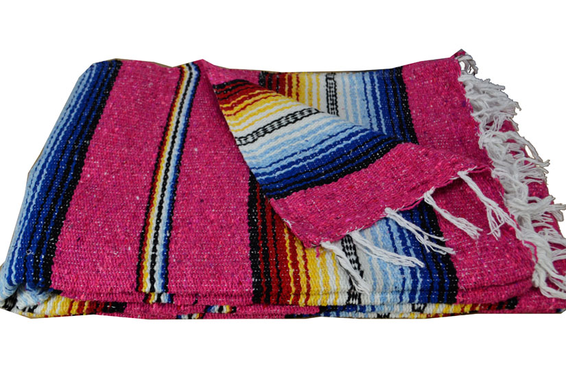 Coperta messicana -  Falsa -  XL -  Rosa