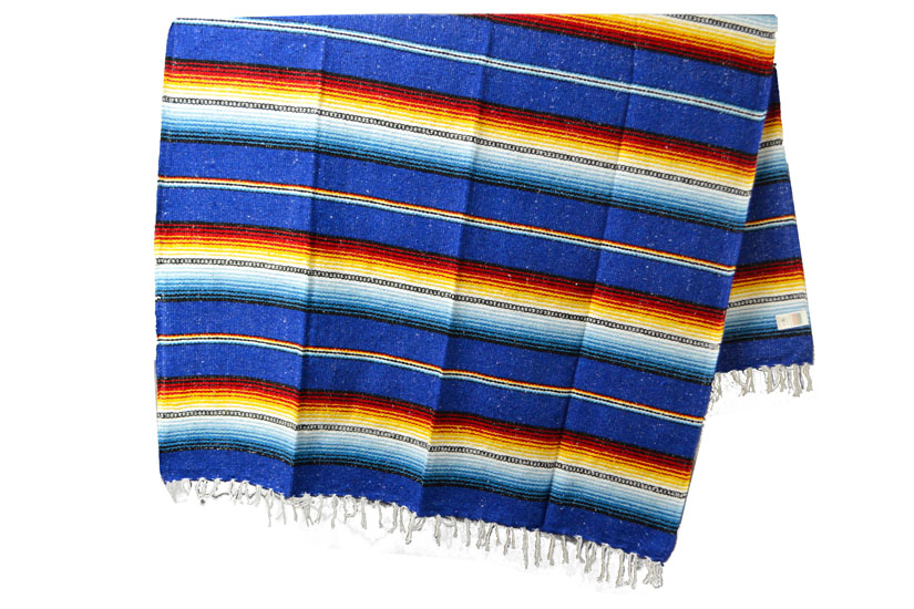 Mexican blanket - Falsa - XL - Blue - MBXZZ0royalblu