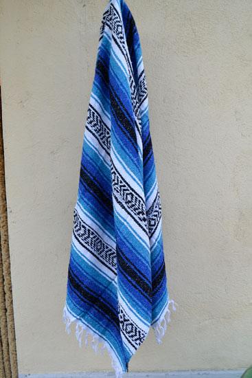 Mexican blanket, Falsa. Blue