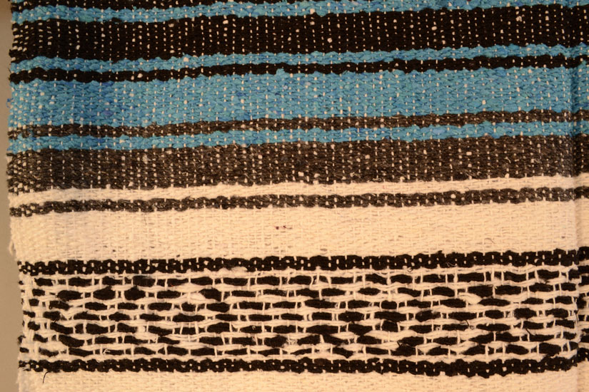 Mexican blanket,Falsa. Blauw