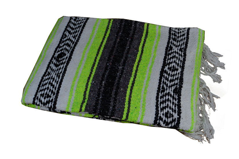 Mexican blanket,Falsa. Green