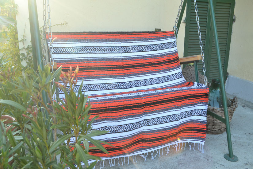 Mexican blanket,Falsa. Oranje