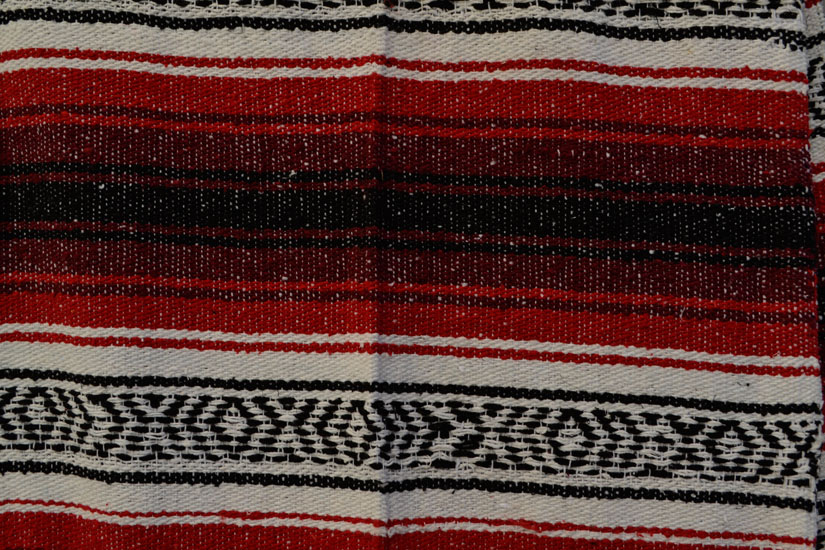 Mexican blanket,Falsa. Rood