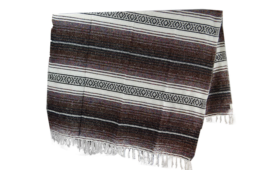 Mexican blanket - Falsa - L - Brown - MSXZZ0brown