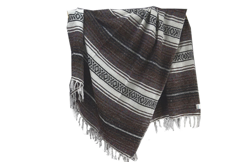 Mexican blanket - Falsa - L - Brown