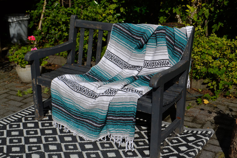 Mexican blanket - Falsa - L - Green