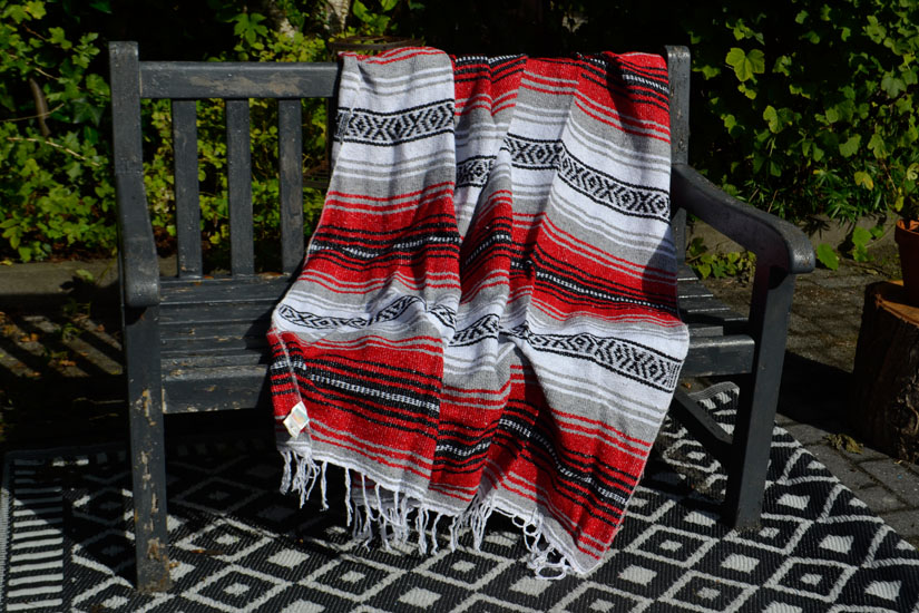 Mexican blanket - Falsa - L - Red