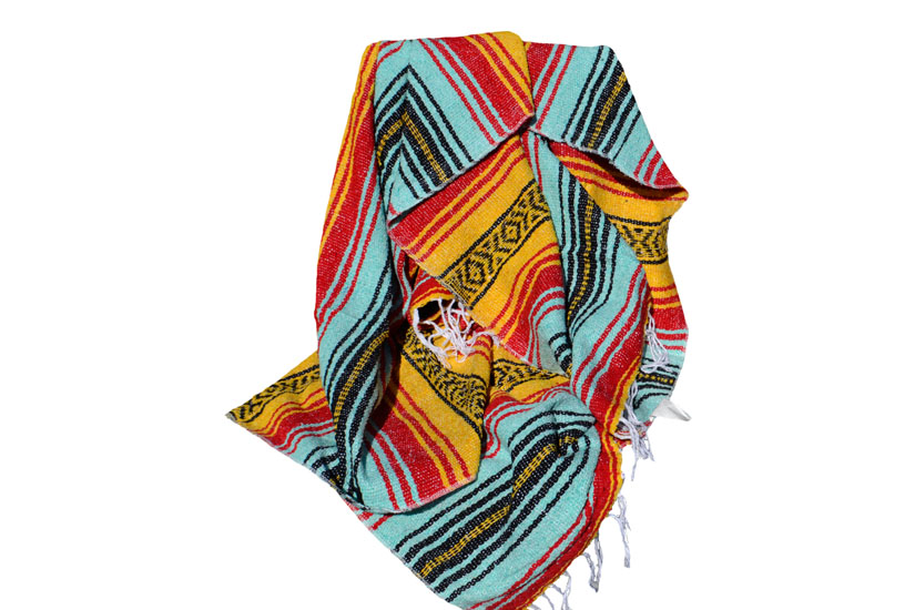 Mexican blanket - Falsa - L - Yellow
