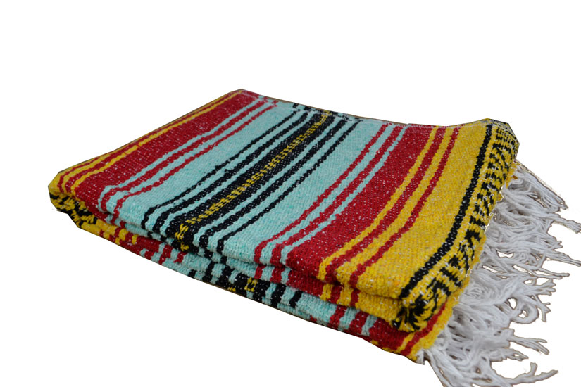 Mexican blanket - Falsa - L - Yellow - MSXZZ0yellowmint