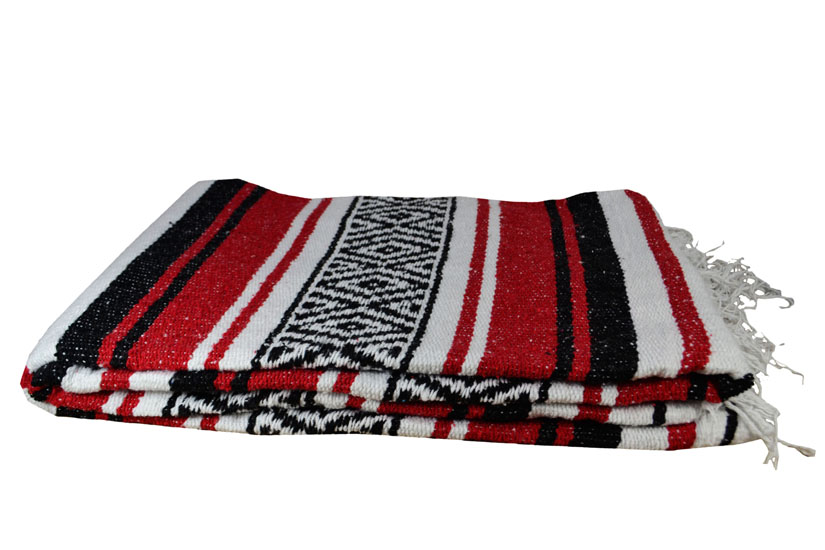 Couverture mexicaine -  Falsa - L - Rouge - MTXZZ0bwred