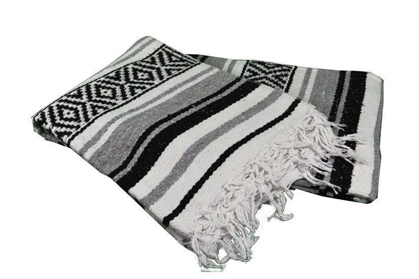 Mexican blanket - Falsa - L - Grey - MTXZZ0grey