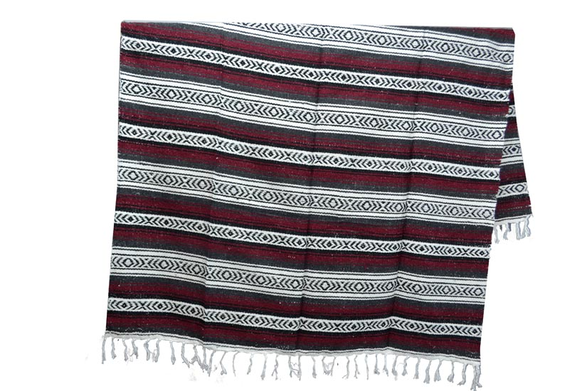 Mexican blanket - Falsa - XL - Brown