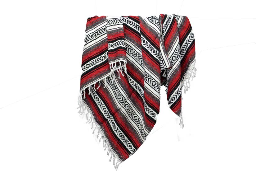 Mexican blanket - Falsa - XL - Red