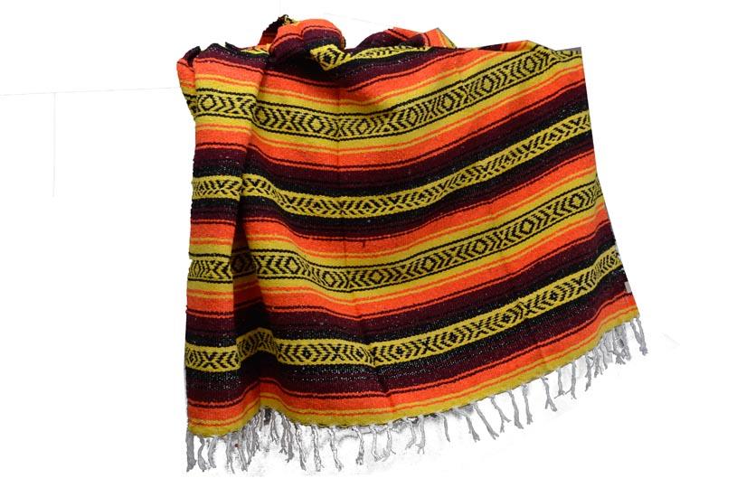 Mexican blanket - Falsa - XL - Yellow