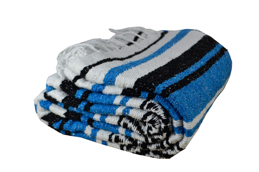 Coperta messicana -  Falsa -  XL -  turchese