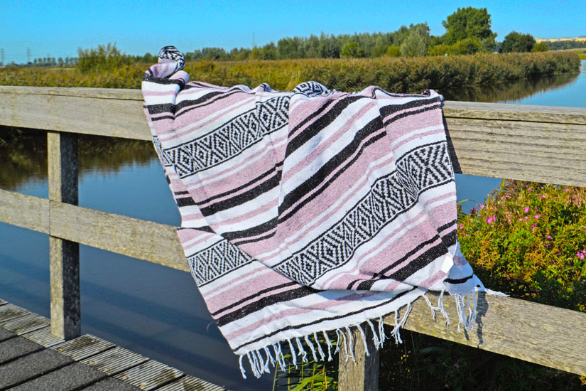 Mexican blanket - Falsa - XL - Violet