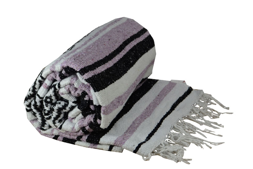 Coperta messicana -  Falsa -  XL -  Viola