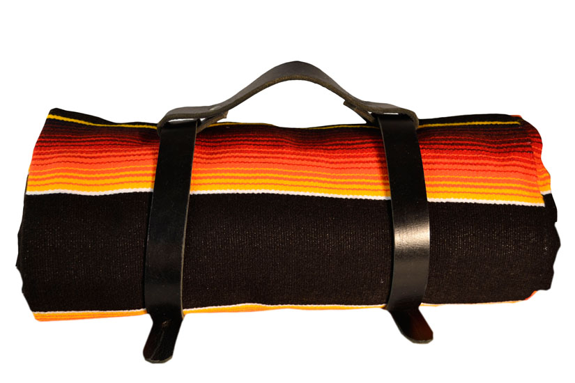 Black blanket belt. Black