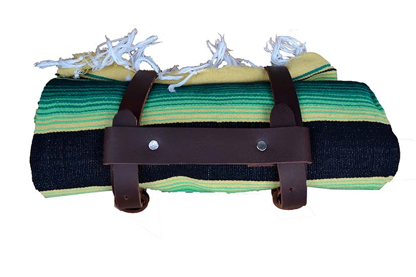 Brown blanket belt. Brown