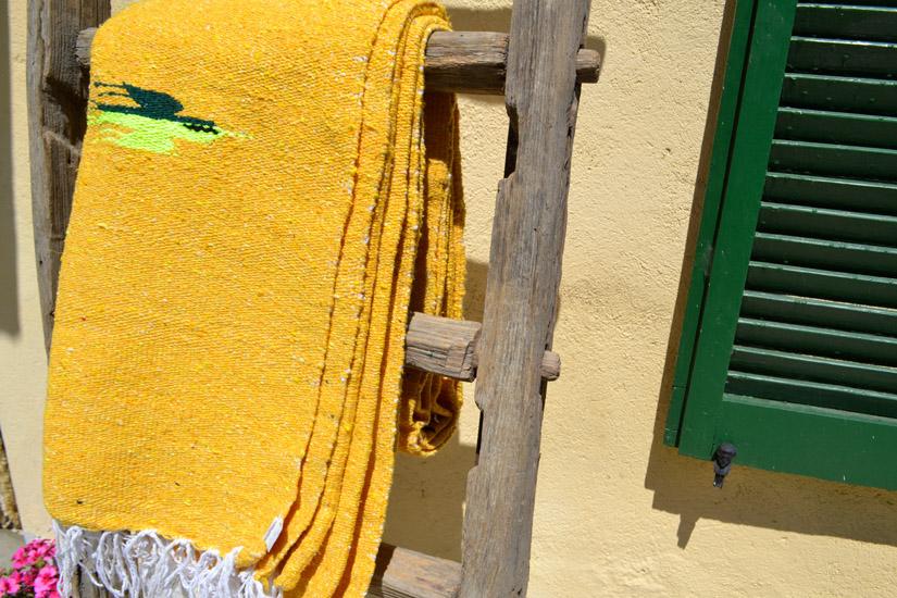 Decke,  Einfarbig