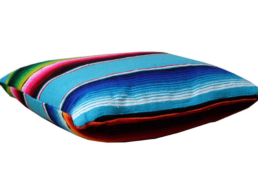 Cushion cover - Serape - S - Turquoise