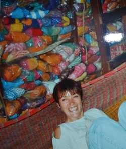 Henriette in a Mexican hammock