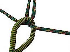 Hangmat ophangen knoop