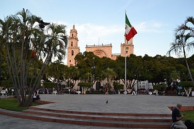 Merida, Plaza Principal, Zocalo, Central square