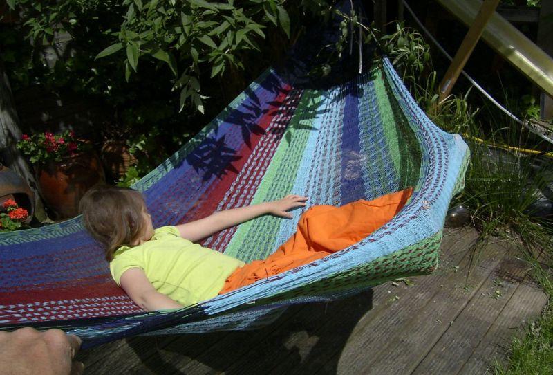 Hangmat Op Balkon : Een fantastische hangmat icolori uw hangmatten specialist