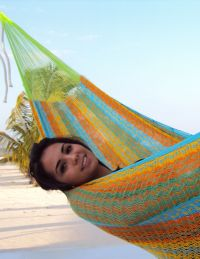 Mexican hammock beach