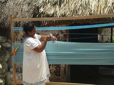 Weaver mexican hammock
